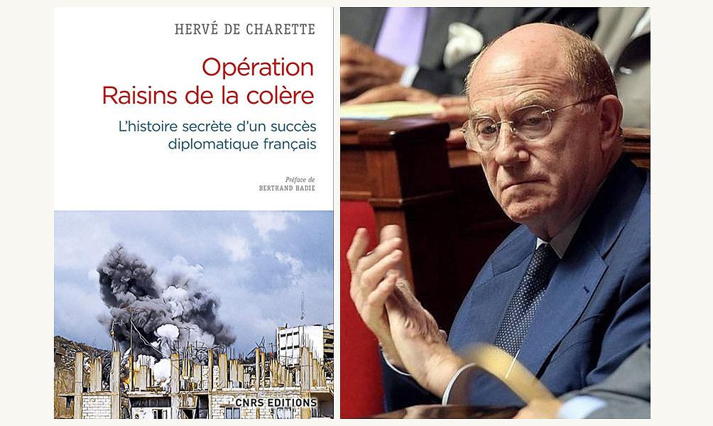 Le diplomate Hervé de Charette. D.R.