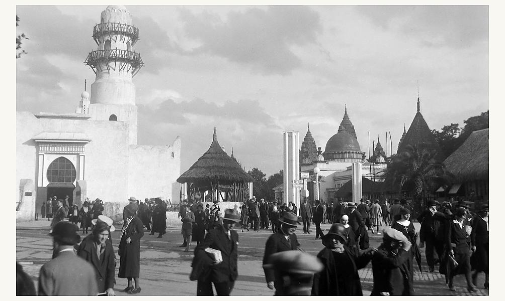 Exposition Universelle de 1931, le pavillon des Somalis. D.R.