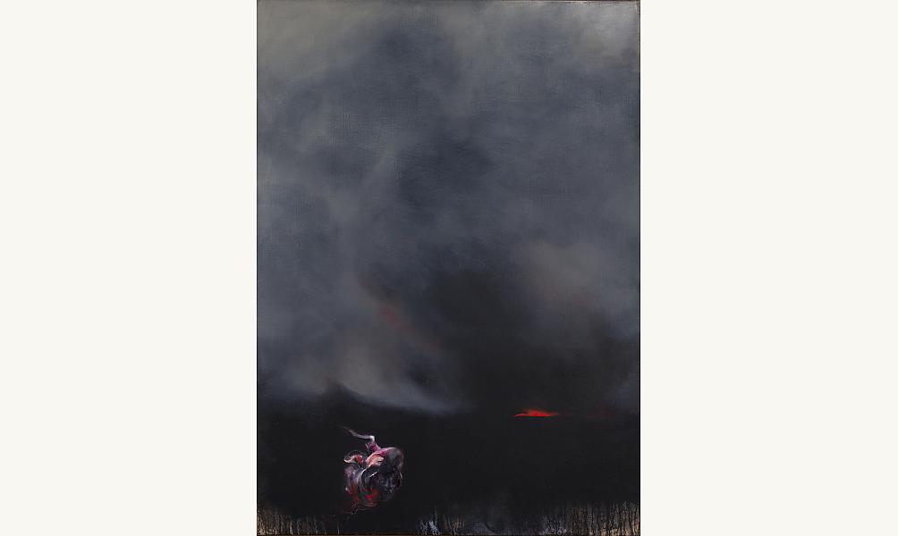 "VELICKOVIC Vladimir, ""Paysage"", 2004 © MNAMCP"
