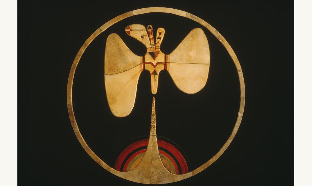 "Farid BELKAHIA ""Aube II"" 1984 musée de l'Institut du monde arabe"
