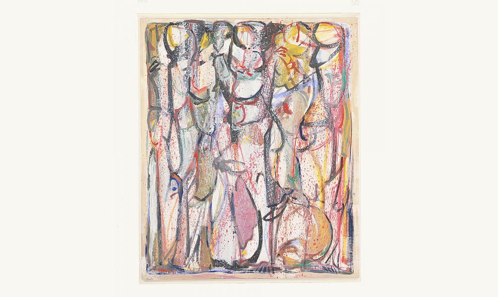 "Paul GUIRAGOSSIAN ""La longue marche"" 1982 Institut du monde arabe"