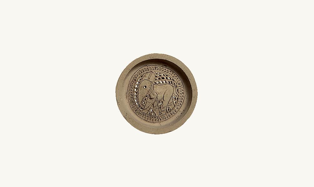 col de gargoulette à décor d'éléphant musée de l'Institut du monde arabe