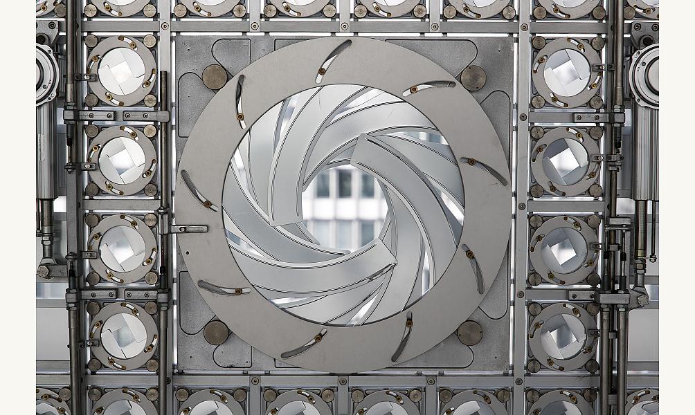 IMA façade moucharabiehs