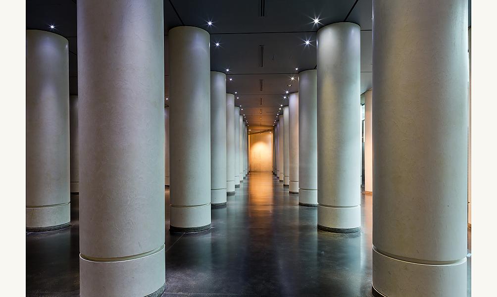 Salle hypostyle Institut du monde arabe