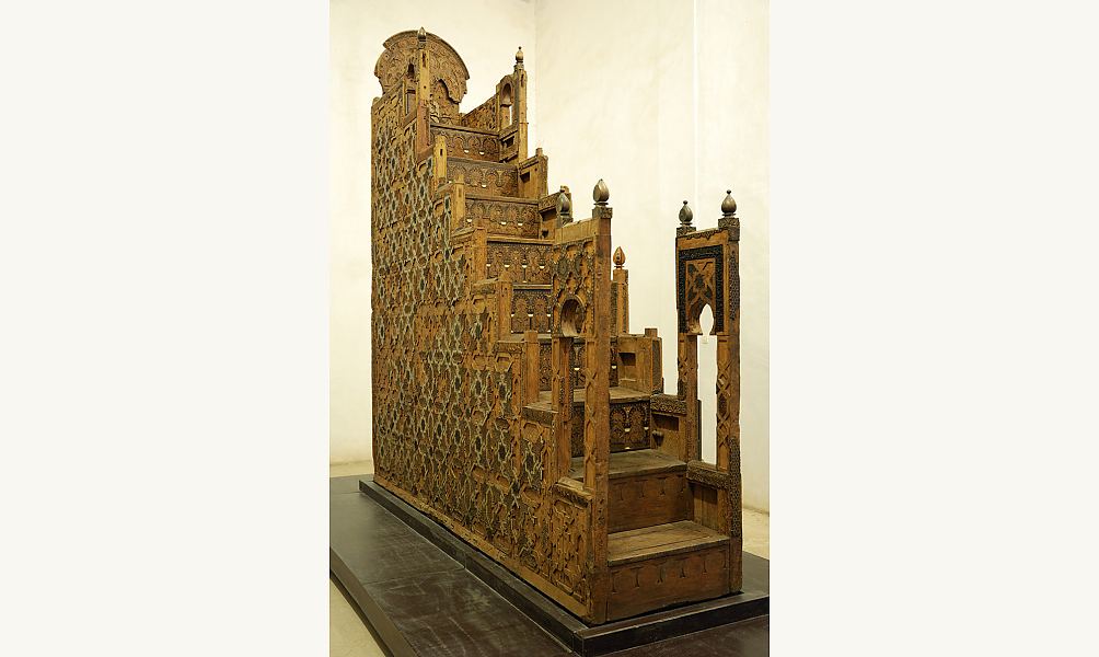 Minbar de la mosquée Koutoubiyya, Marrakesh, 1137-1147 IMA