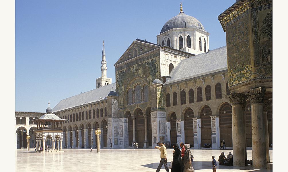 Grande mosquée de Damas, Syrie, 705-715 IMA