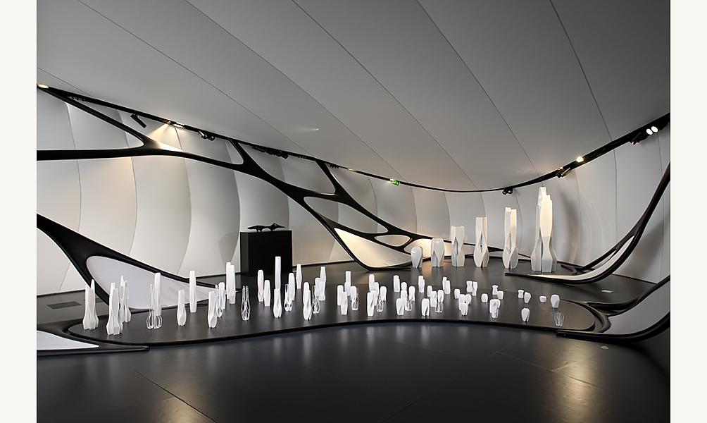 Zaha Hadid, Pavillon Mobile Art, 2011 IMA