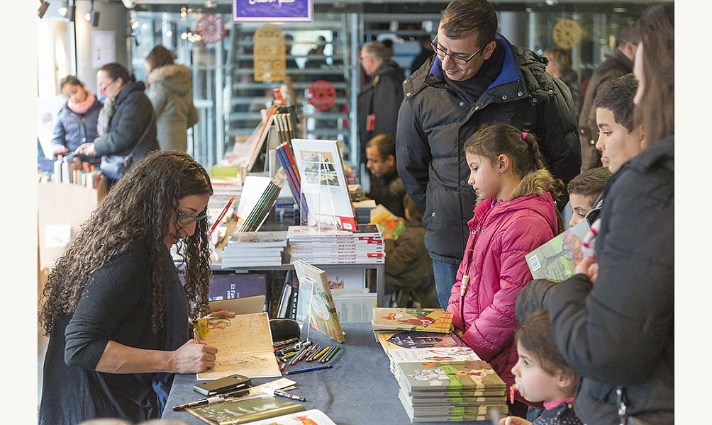 Dédicaces à la librairie-boutique de l'IMA