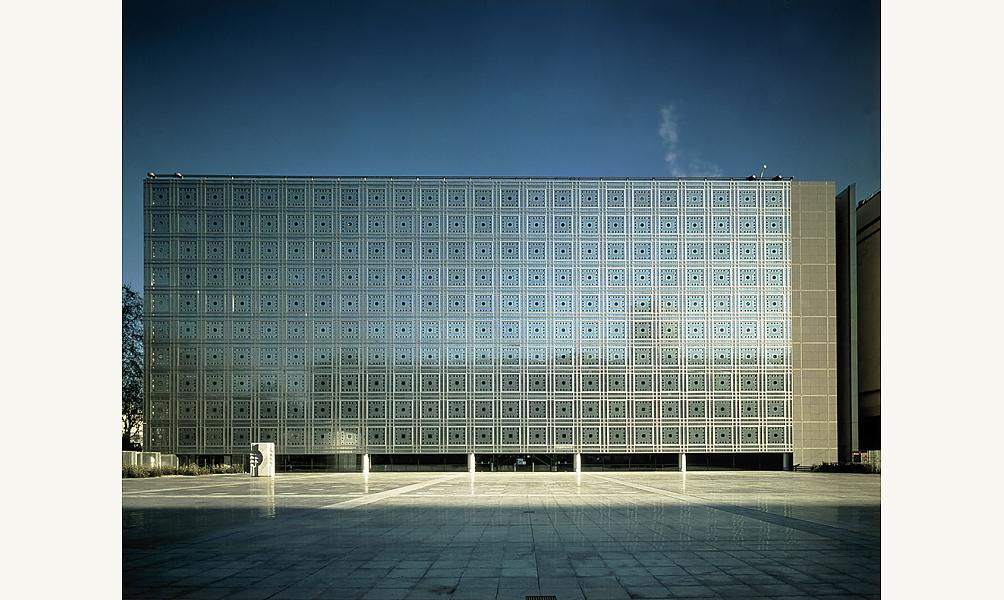 façade de l'Institut du monde arabe