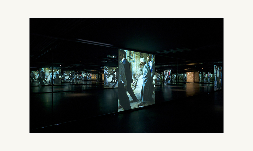 Installation musée de l'Institut du monde arabe