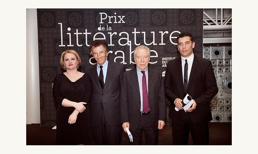 Prix de la littérature arabe 2014 à l'IMA