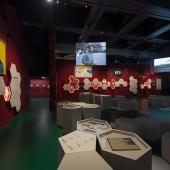 Expo Foot et monde arabe à l'Institut du monde arabe © Thierry Rambaud / IMA
