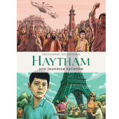 Couverture de la BD Haytham. Une jeunesse syrienne par Nicolas Hénin