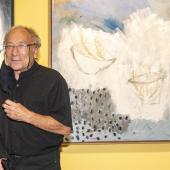 """Ernest Pignon-Ernest, vernissage de l'exposition """"Couleurs du monde"""", 17.09.2020 © Alice Sidoli IMA"""