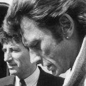 Johnny Hallyday et Jack Lang
