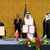 18 octobre 2020 : Bahreïn et Israël formalisent des liens diplomatiques  D.R.
