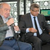 Muhammad Shahrur et Mojeb Zahrani, directeurs scientifiques de la chaire de l'IMA
