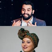 Yassine Belattar et Samia Orosemane