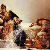 """""""Scheherazade"""" par Édouard Frédéric Wilhelm Richter (1844-1913) D.R."""