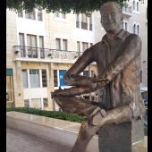 Place Samir Kassir à Beyrouth © Emma Mizouni