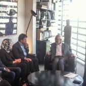 Visite de Rached Ghannouchi à l'Institut du monde arabe, Paris